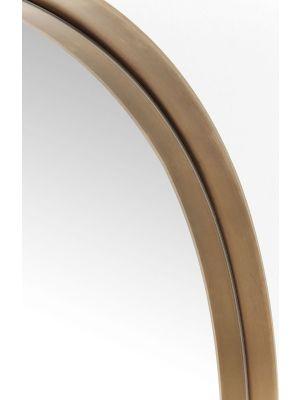 Kare Design Curve Spiegel Rond - Ø100cm - Koper