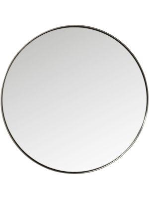 Kare Design Curve Spiegel Rond - Ø100cm - Metaal