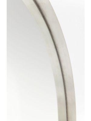 Kare Design Curve Spiegel Rond - Ø100cm - RVS