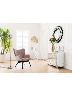 Houten Design Fauteuil.Kare Design Fauteuil Vicky Meubels Laagste Prijsgarantie Bestel Nu