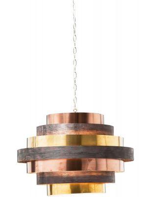 Kare Design Belt Hanglamp 6-Lichts - Ø60 cm - Multikleur