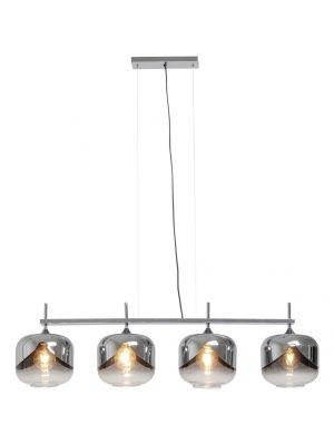 Kare Design Goblet Quattro Hanglamp 4-Lichts - Ø25 cm - Chroom