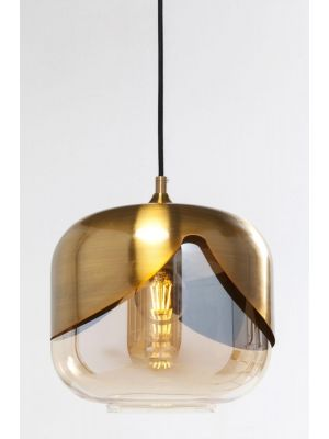Kare Design Goblet Hanglamp 1-Lichts - Ø25 cm - Goudkleurig
