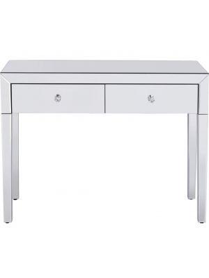 Kare Design Luxury Sidetable - B100xD40xH77 cm - Spiegelglas