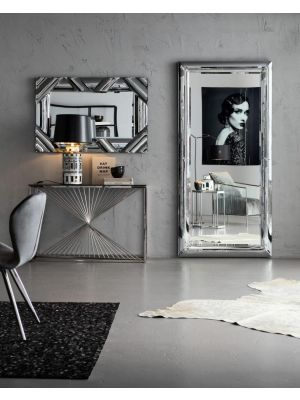 Kare Design Bounce Spiegel - Rechthoek - B99 x D5 x H207 cm - Glazen Frame