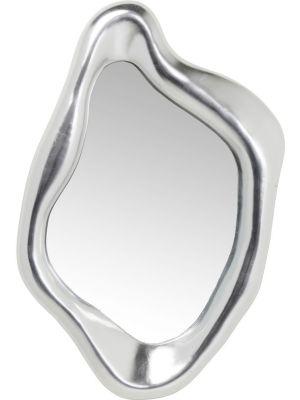 Kare Design Hologram Spiegel - B76 x D9 x H119 cm - Mat Zilverkleurig