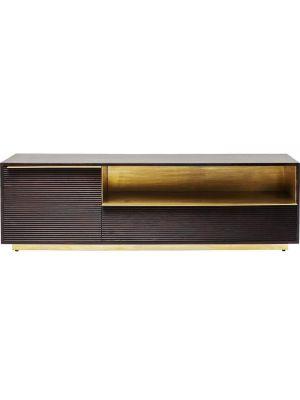 Kare Design Casino Lounge TV-Meubel - B150 x D35 x H45 cm - Mangohout