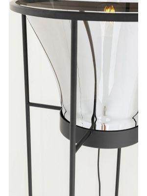 Kare Design Pear Vloerlamp 1-Lichts - Hoogte 158 cm - Zwart