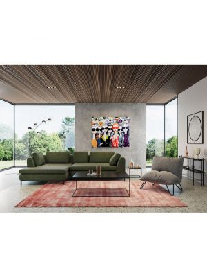 Kare Design Key West Black Salontafel - B120 x D60 x H40 cm - Marmer/Metaal