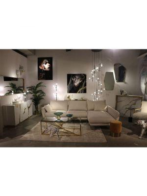 Kare Design San Remo Bijzettafel - Ø46 cm - Zwart Marmer
