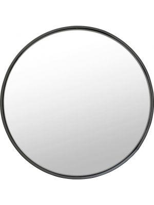 Kare Design Spiegel Ronde Ombra - Ø60cm - Zwart