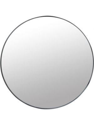 Kare Design Spiegel Ronde Ombra Soft - Ø100cm - Zwart