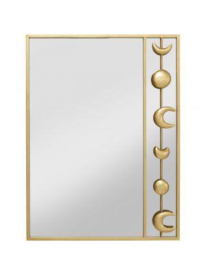 Kare Design Wandspiegel Moons - B60 x H80cm - Goud