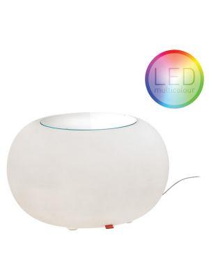 Moree Bubble Indoor LED Bijzettafel - Ø68 x H41 cm