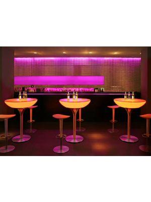 Lounge 105 Verlichte Bartafel Outdoor - Wit
