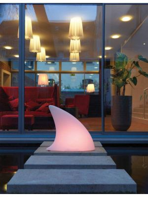 Moree Shark Outdoor LED Vloerlamp - L70 x B19,5 x H65 cm