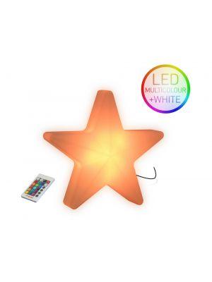 Moree Star LED Wandlamp voor Buiten - L40 x B41 cm - Wit