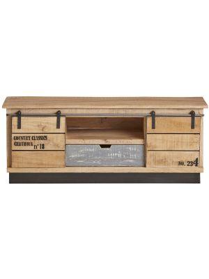 24Designs Rural TV-meubel - B130 x D40 x H51 cm - Mangohout