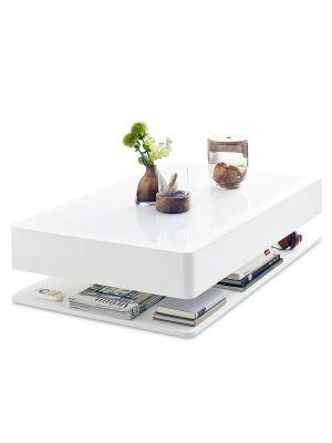 Moree Ora Home Salontafel - L110 x B70 x H29 cm - Wit