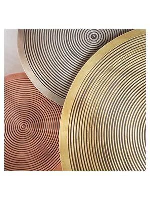 24Designs Sundry Metallic Bijzettafels - Set van 3 - Goud/Brons/Koper