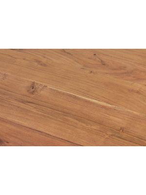 24Designs Circa Ronde Salontafel - Diameter 85 x H42 cm - Massief Acaciahout - Metaal