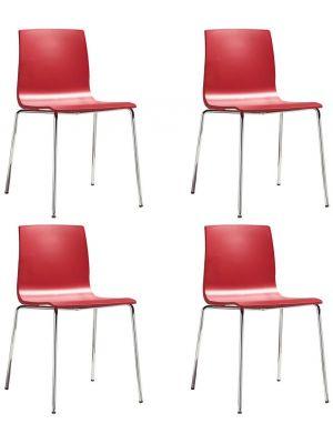 Stapelbare stoel All Tec 015 Zwart   Viking Direct NL