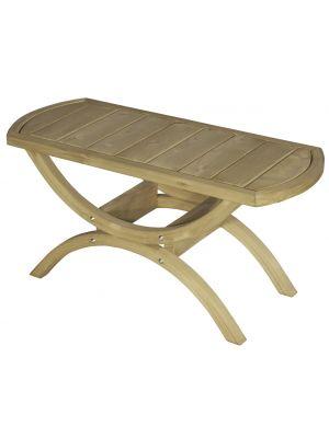 Amazonas Tavolino Salontafel - L86 x B42 x H36 cm - Vurenhout