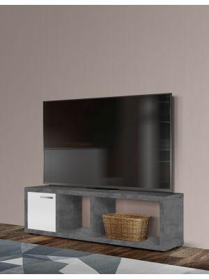 TemaHome Berlin Tv-Meubel - B150xD34xH45 cm - Beton Look