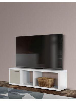 TemaHome Berlin Tv-Meubel - B150xD34xH45 cm - Mat Wit