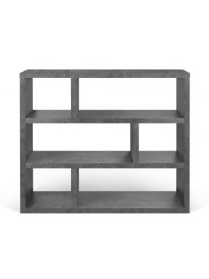 TemaHome Dublin Low Vakkenkast - B120 x D29 x H105 cm - Beton Look