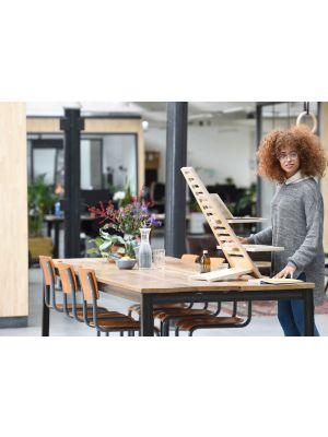 Upstaa XL sta-bureau werkplek – Berkenhout - Naturel