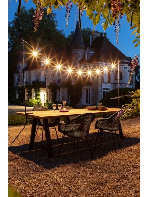 Vincent Sheppard Light My Table - Verlichting boven tuintafel 200/300 x 146 cm