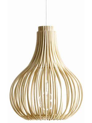 Vincent Sheppard Bulb Hanglamp - B54 x D54 x H68 cm - Naturel Rotan