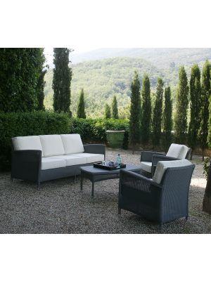 Vincent Sheppard Dovile - 2.5 zits Outdoor Lounge Bank - Grijs