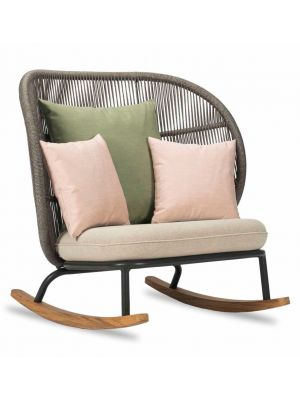 Vincent Sheppard Kodo Rocking Chair - Outdoor Schommelstoel - Almond