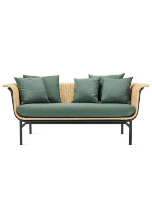 Vincent Sheppard Wicked 2-Zits Outdoor Lounge Bank - Naturel Rotan