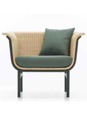 Vincent Sheppard Wicked Lounge Chair - Inclusief kussenset Forrest Green