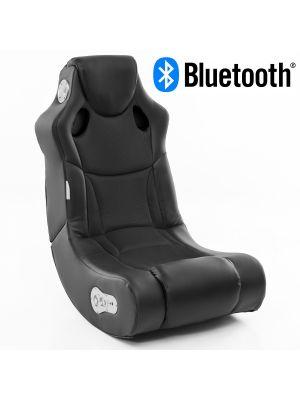 24Designs Racer - Racestoel Gamestoel - Bluetooth & Speakers - Zwart