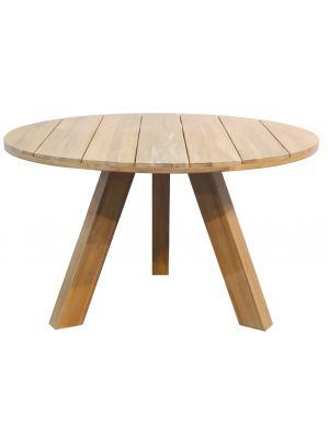 WOOOD Abby Ronde Eettafel - Diameter 129 cm - Accacia hout