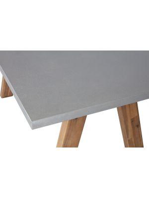 WOOOD Eef Eettafel - L180 x B90 x 77 cm - Polystone en Acaciahout