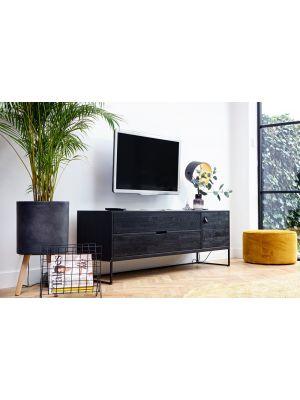 Tv Meubel Zwart Staal.Tv Meubels Staal Kopen Bestel Bij Designonline24