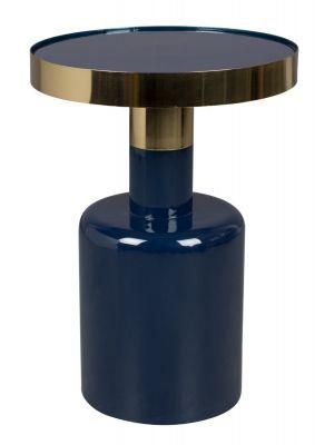 Zuiver Glam Bijzettafel - Ø36x51 - Blauw