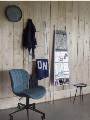 Zuiver Bureaustoel OMG - Verstelbare Zithoogte 44 - 56 cm - Stof Blauw