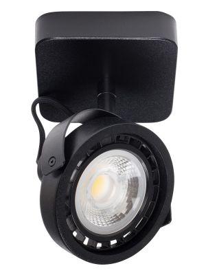 Zuiver Dice-1 Plafondspot - DTW Dim to Warm Dimbare LED - Zwart