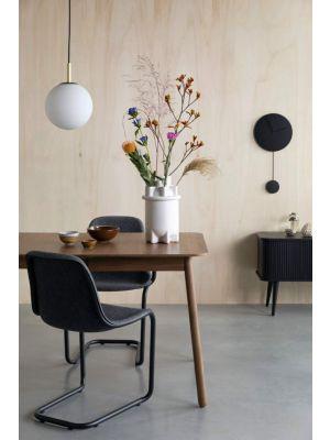 Zuiver Glimps Uitschuifbare Eettafel - 180/240x90x76 - Walnoot