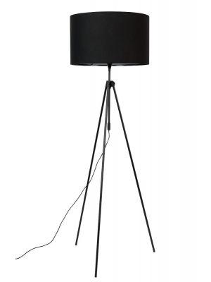 Zuiver Lesley Vloerlamp - In hoogte verstelbaar 153-181 cm - Zwart