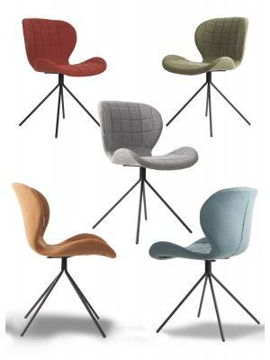 Zuiver Stoel OMG Stof - 6 stoelen Mix aanbieding + Gratis bijzettafel t.w.v. € 79,-