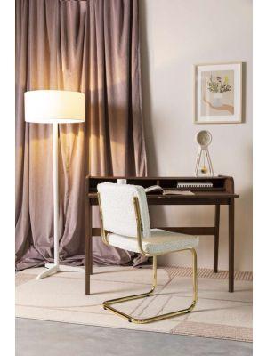 Zuiver Bliss Vloerkleed Rechthoek - L300 x B200 cm - Stof Naturel/Roze
