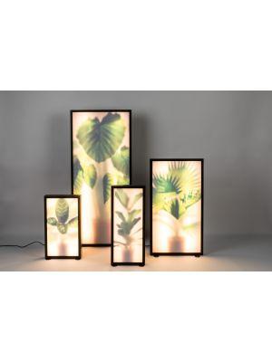 Zuiver Grow L Vloerlamp - Roomdivider - 26x8x61- LED - Fiddle Leaf Fig
