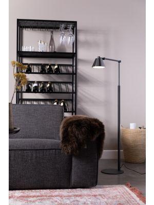 Zuiver Lub Vloerlamp 1-Lichts - LED - 25x45x142 - Zwart Metaal